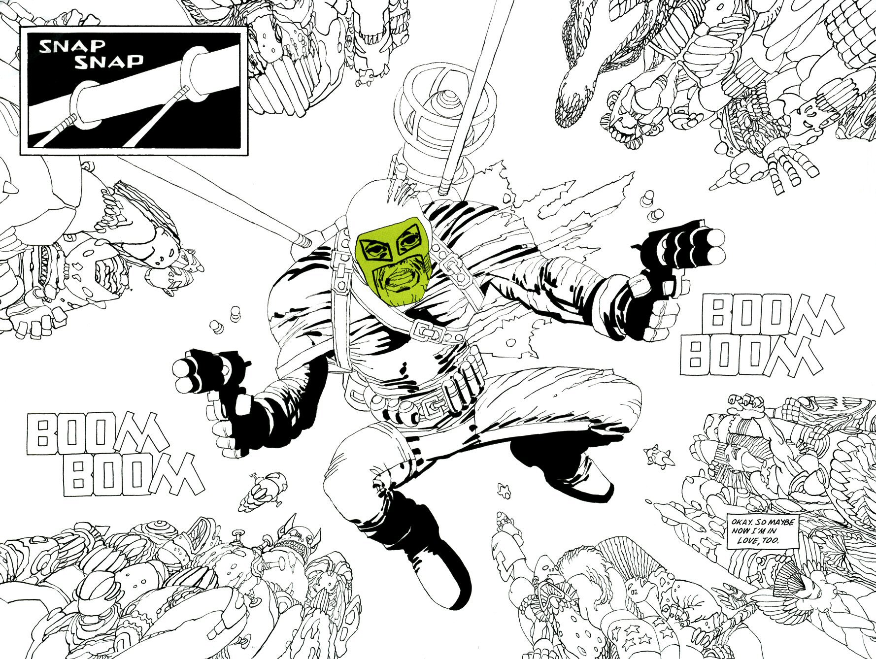 Read online Frank Miller's Holy Terror comic -  Issue # TPB - 109
