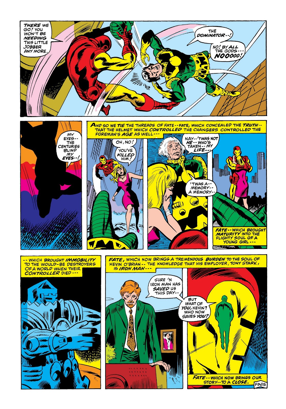 Read online Marvel Masterworks: The Invincible Iron Man comic -  Issue # TPB 7 (Part 3) - 68