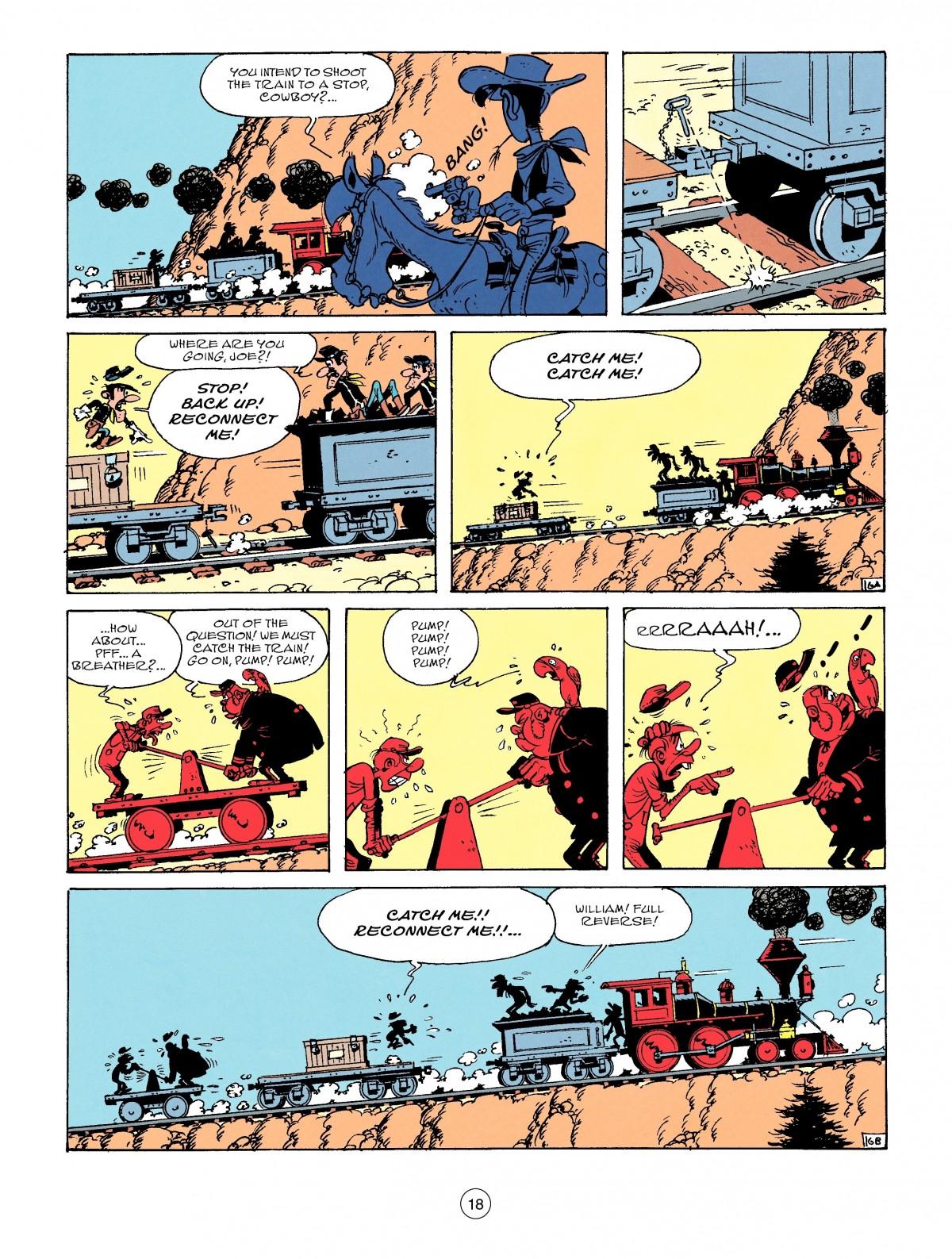 Read online A Lucky Luke Adventure comic -  Issue #53 - 18