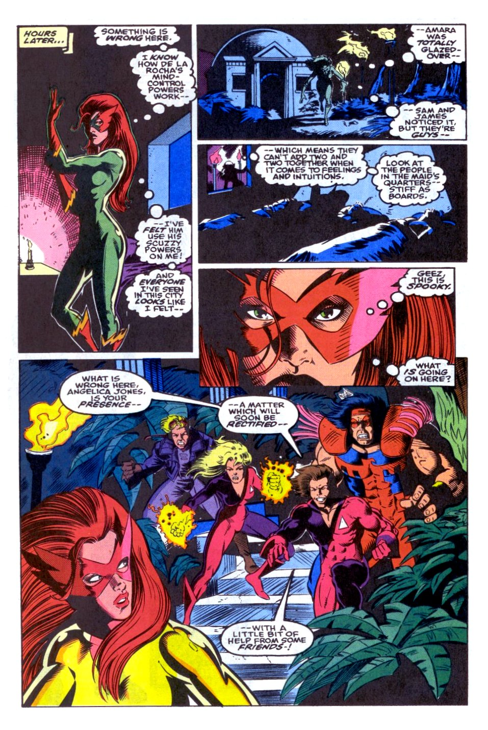 The New Warriors Issue #31 #35 - English 12