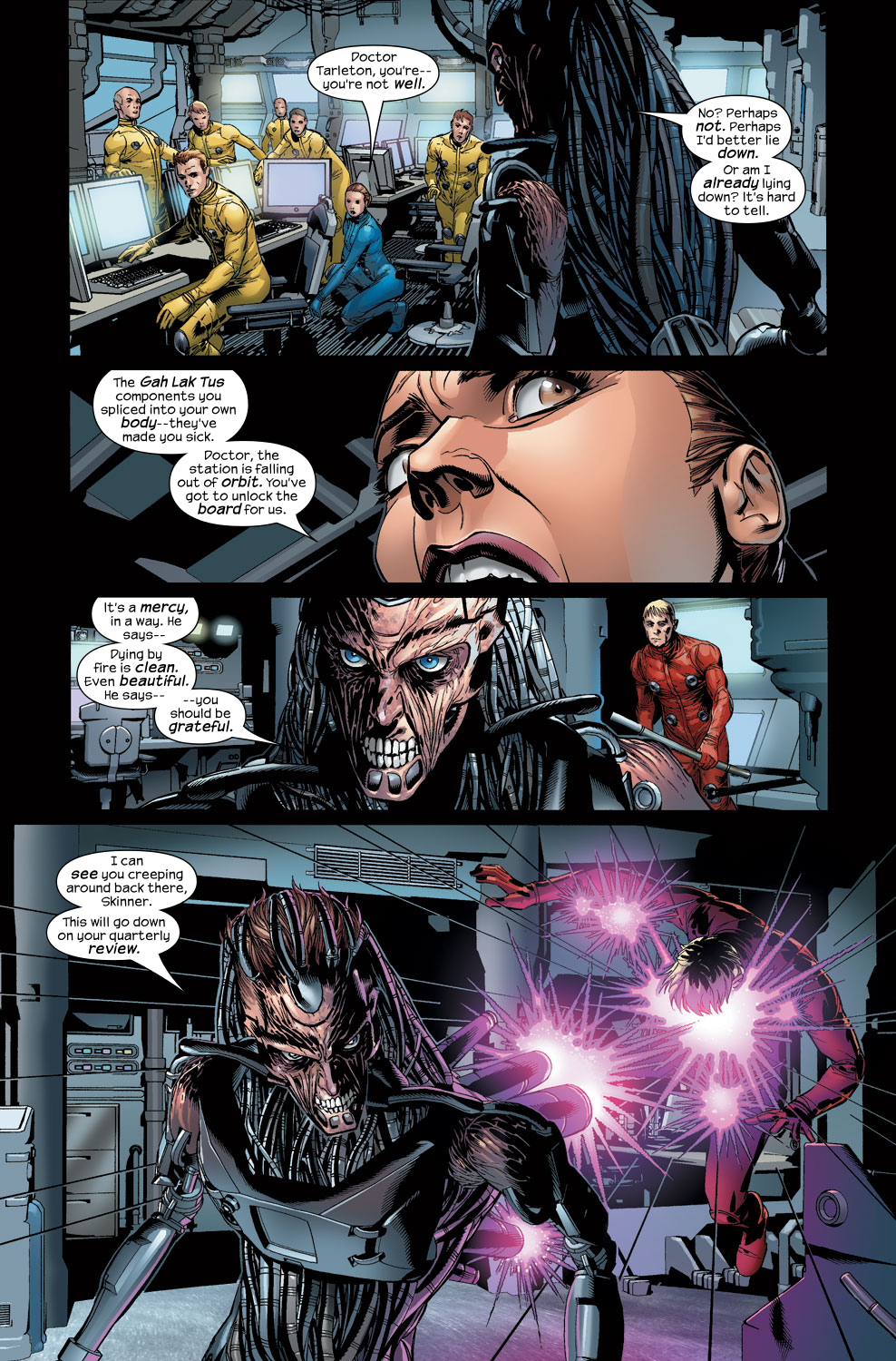 Read online Ultimate Vision comic -  Issue #3 - 5