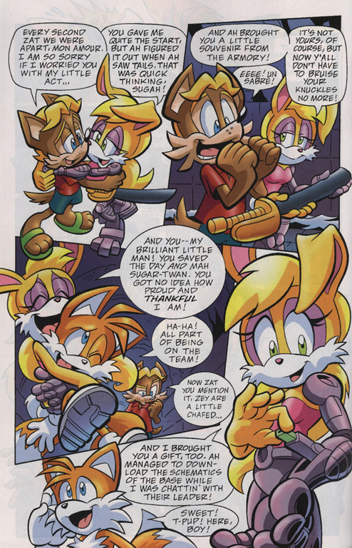 Read online Sonic Universe comic -  Issue #19 - 16