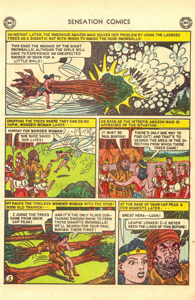 Read online Sensation (Mystery) Comics comic -  Issue #105 - 7