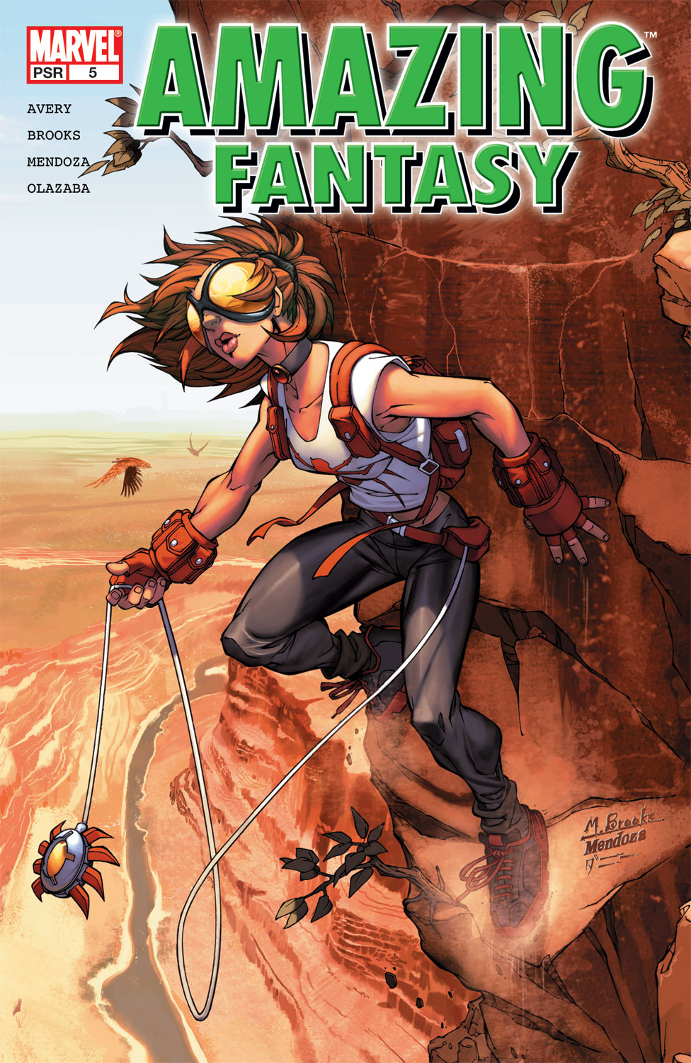 Read online Amazing Fantasy (2004) comic -  Issue #5 - 1