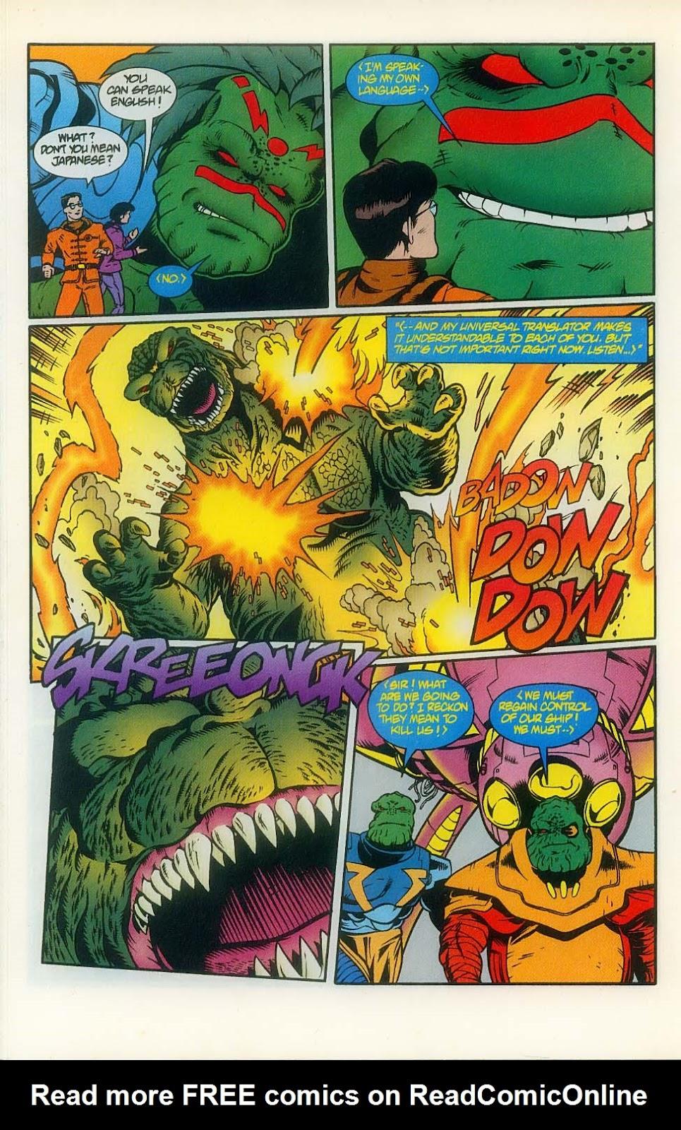 Godzilla (1995) Issue #8 #9 - English 18
