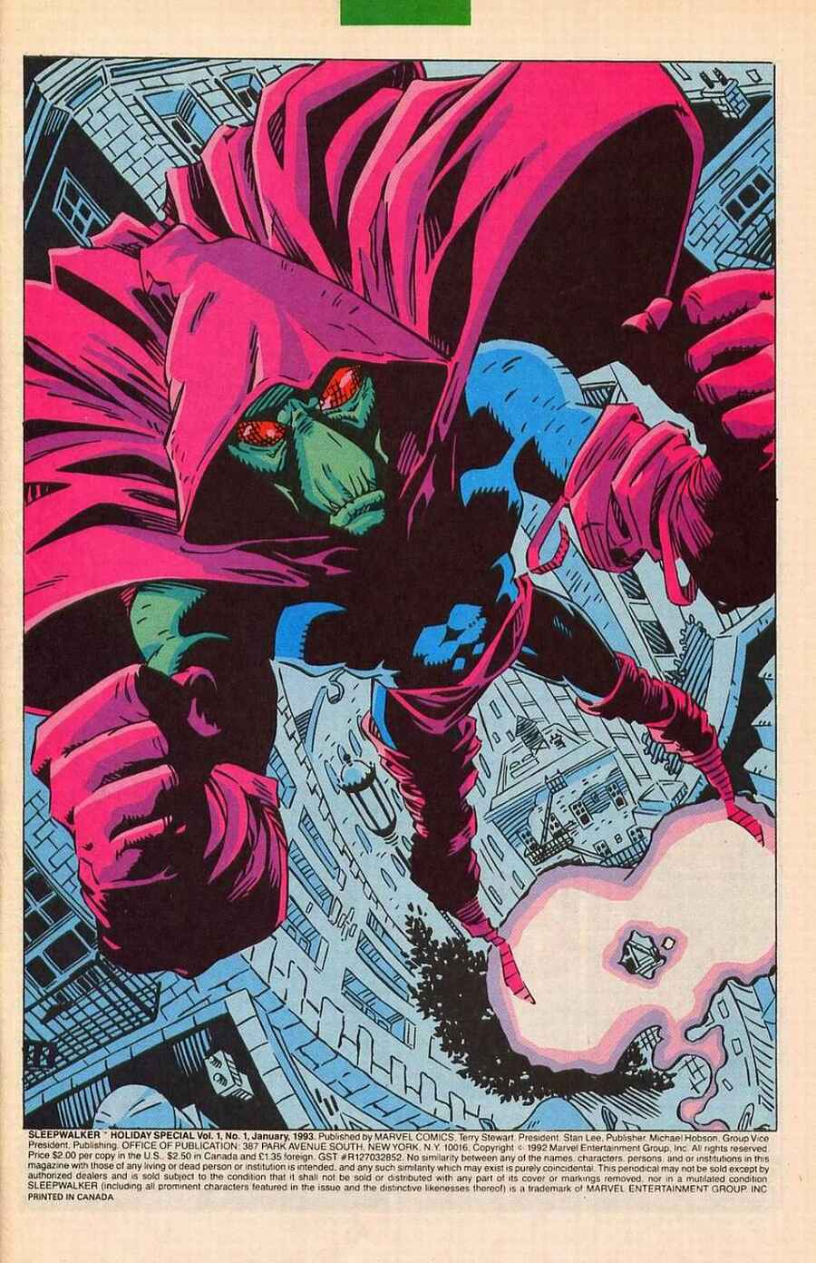 Read online Sleepwalker Holiday Special comic -  Issue # Full - 2