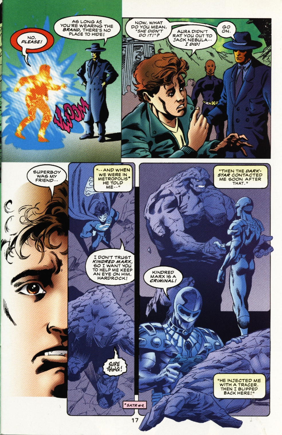 Read online Superboy & The Ravers comic -  Issue #11 - 18