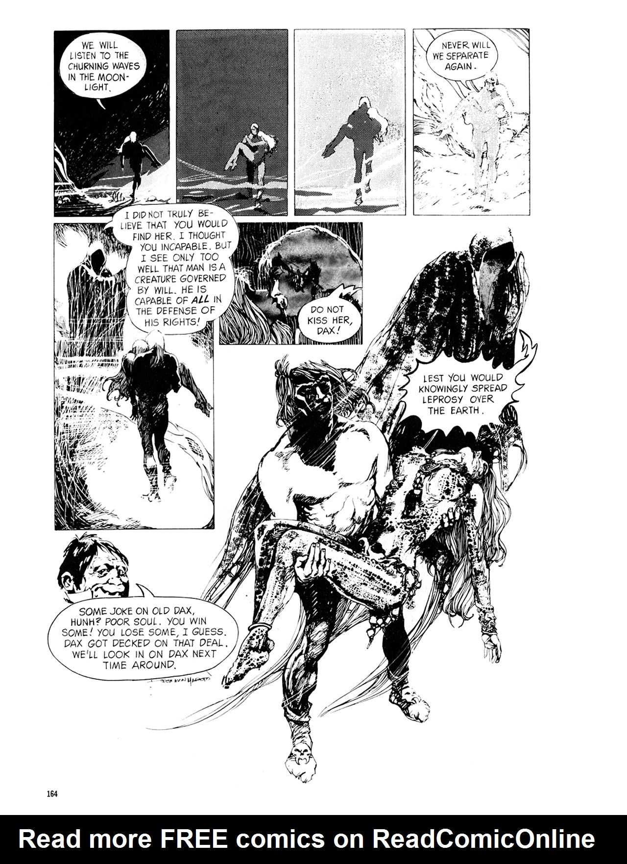 Read online Eerie Archives comic -  Issue # TPB 8 - 165
