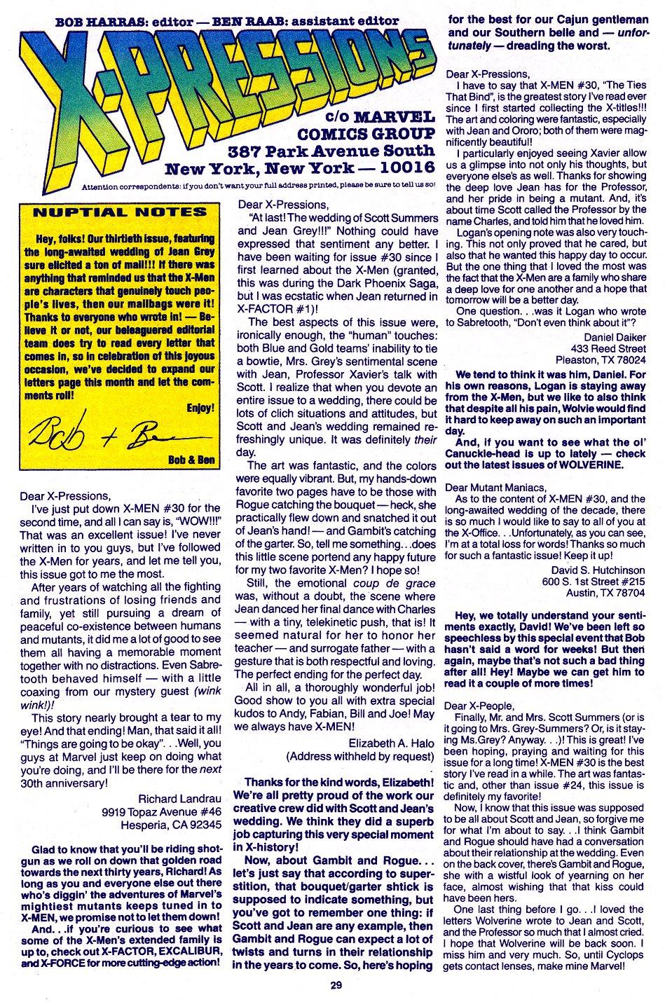 X-Men (1991) 33 Page 20