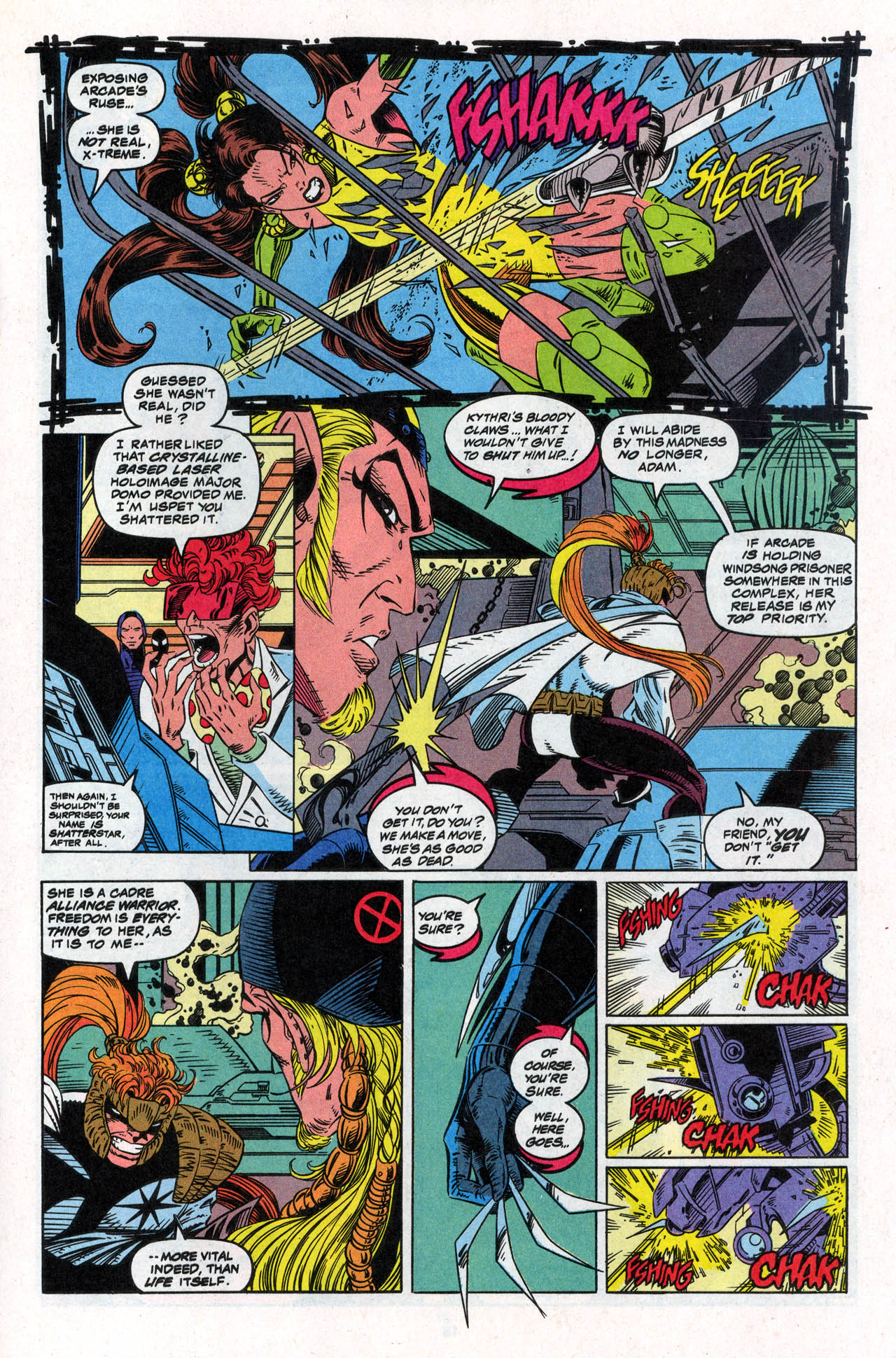 Read online X-Force (1991) comic -  Issue #30 - 18