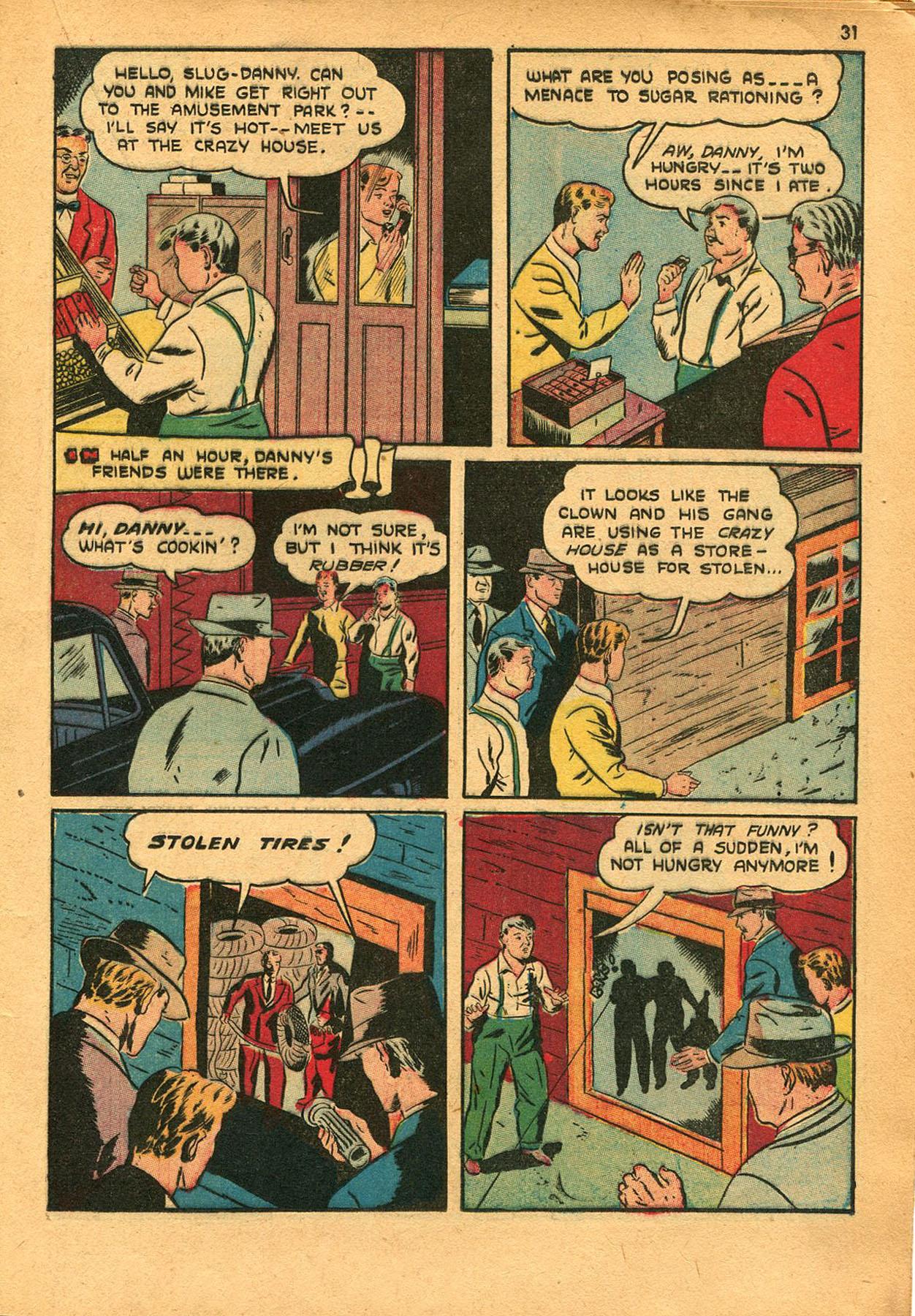 Read online Shadow Comics comic -  Issue #23 - 31