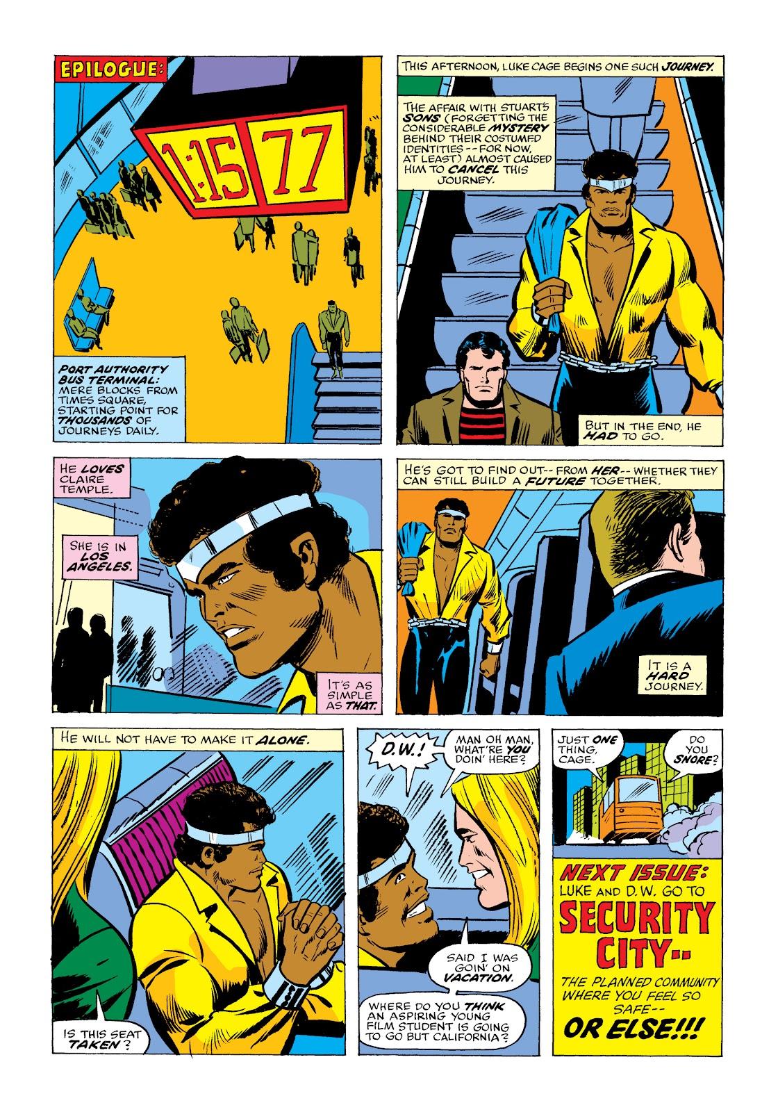 Read online Marvel Masterworks: Luke Cage, Power Man comic -  Issue # TPB 2 (Part 2) - 24