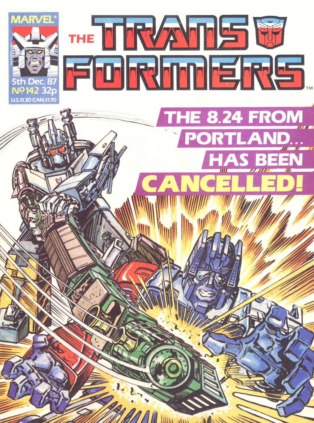 The Transformers (UK) 142 Page 1