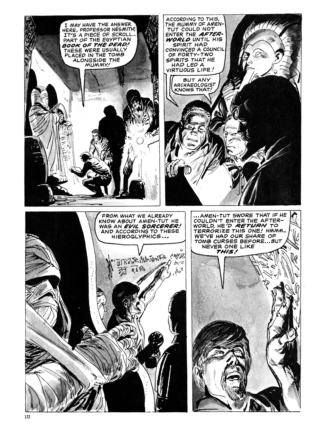 Read online Eerie Archives comic -  Issue # TPB 6 - 172