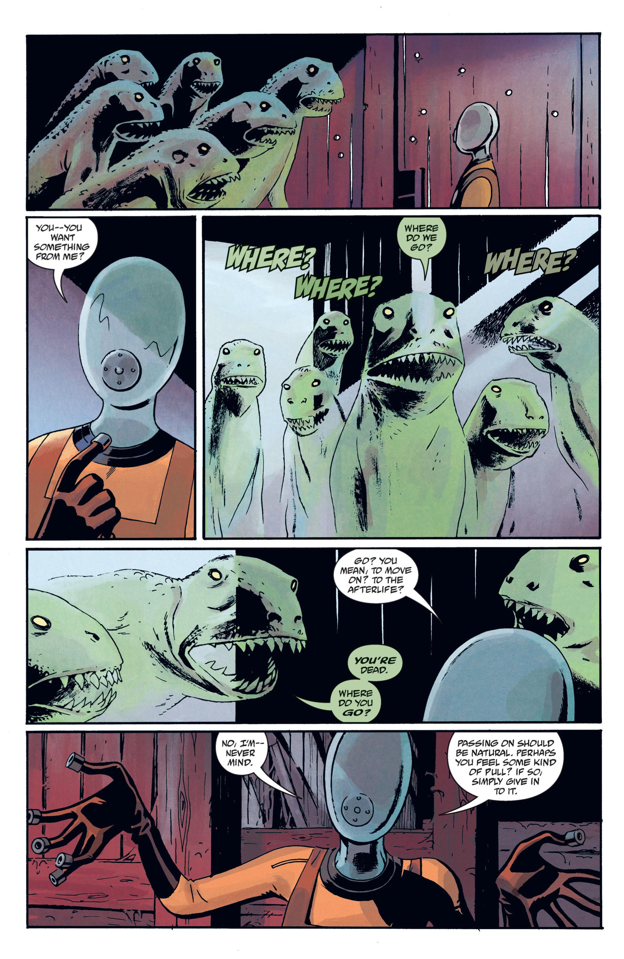Read online B.P.R.D. (2003) comic -  Issue # TPB 12 - 90