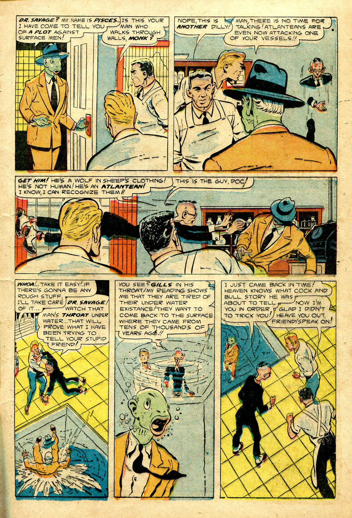 Read online Shadow Comics comic -  Issue #96 - 21