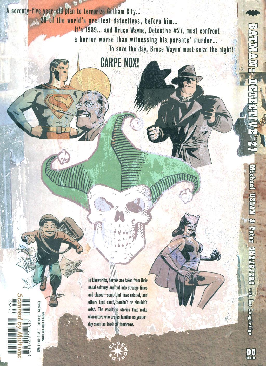 Read online Batman: Detective #27 comic -  Issue #27 TPB - 102