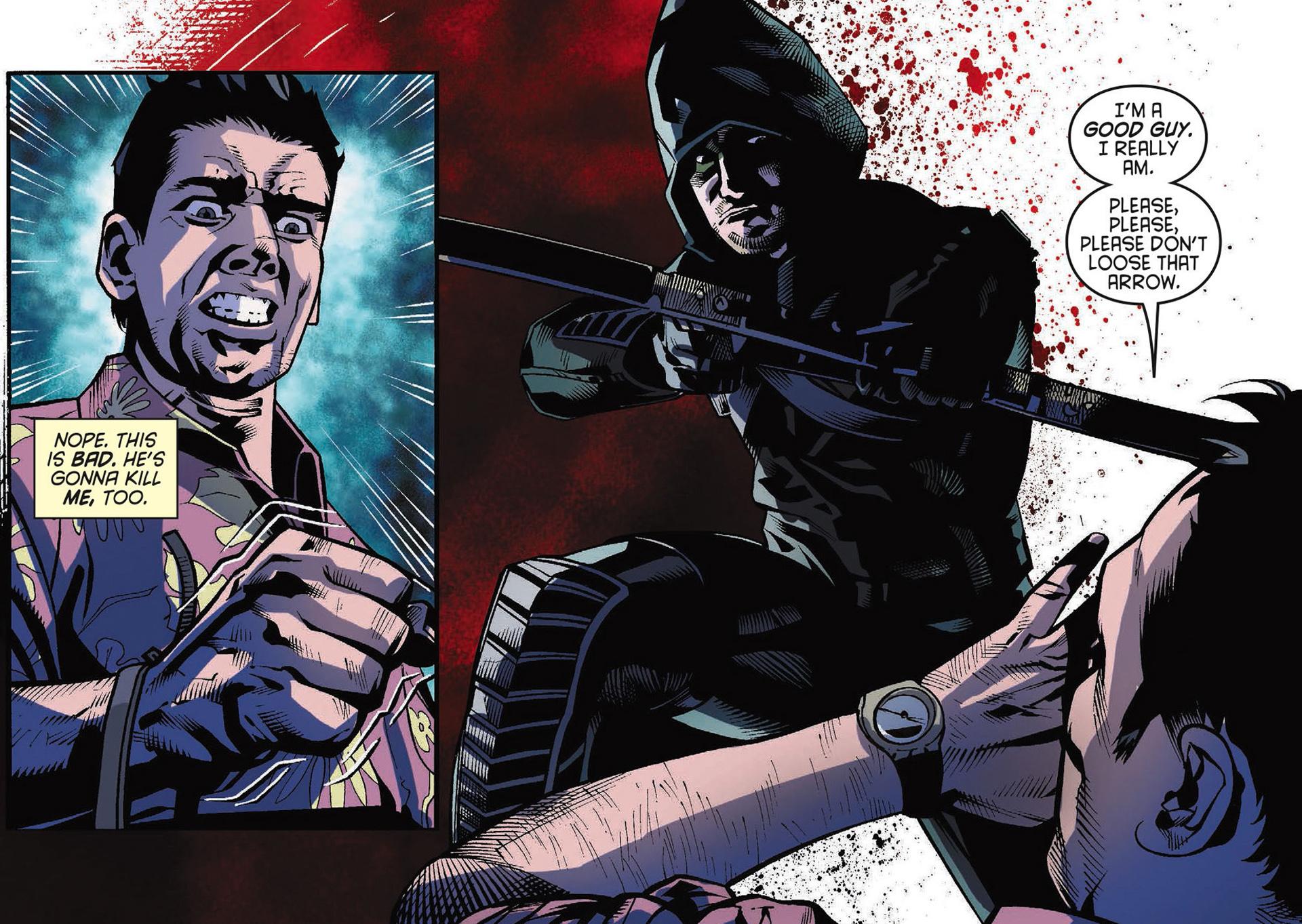 Read online Arrow [II] comic -  Issue #34 - 12