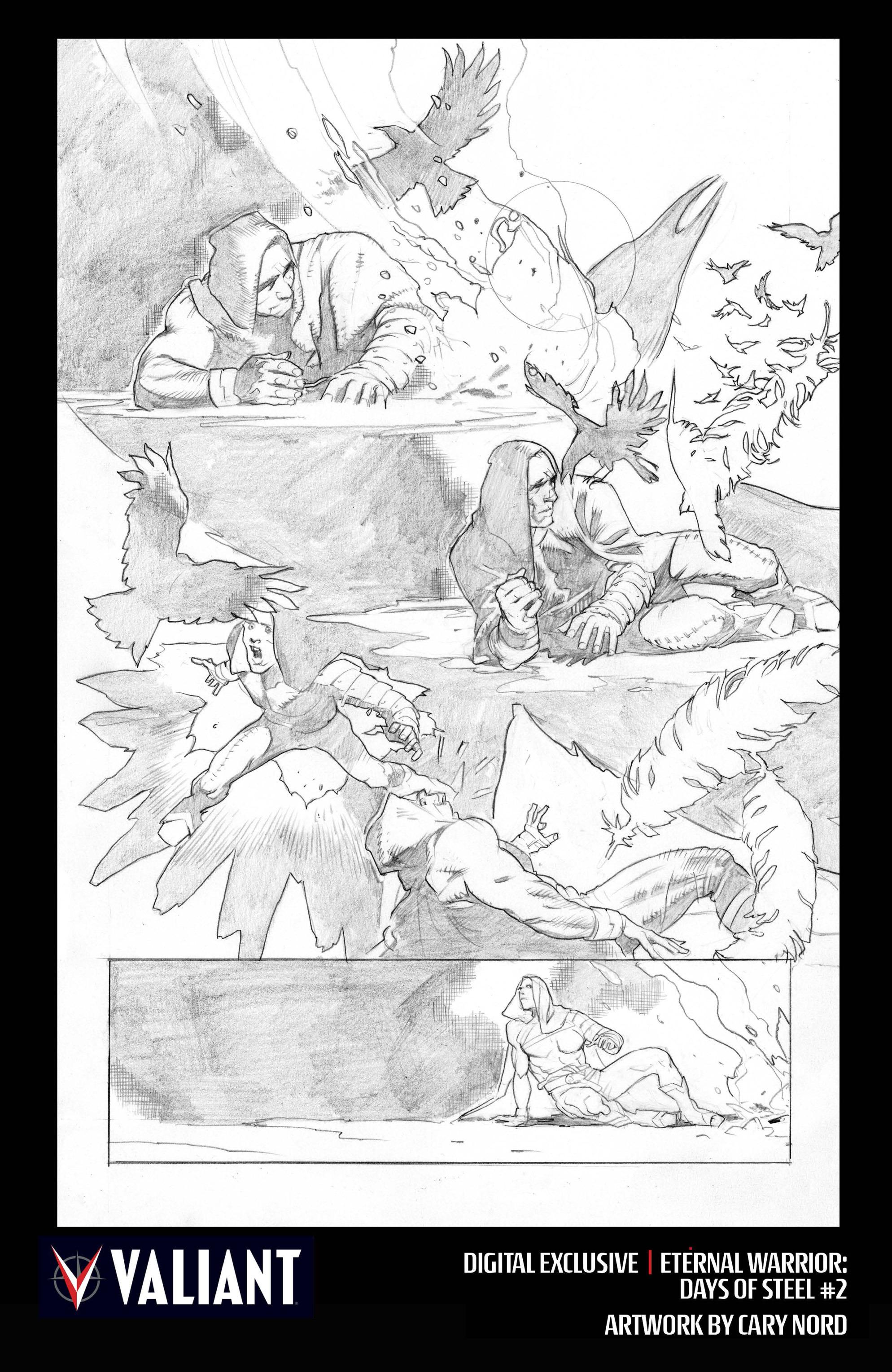 Read online Eternal Warrior: Days of Steel comic -  Issue #2 - 33