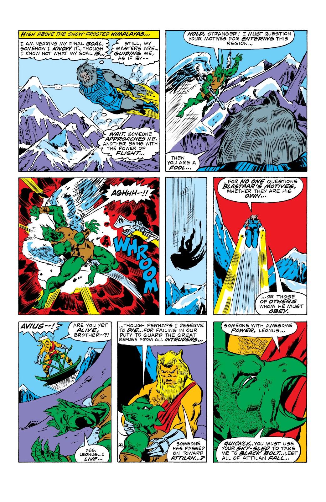 Read online Marvel Masterworks: The Inhumans comic -  Issue # TPB 2 (Part 1) - 17