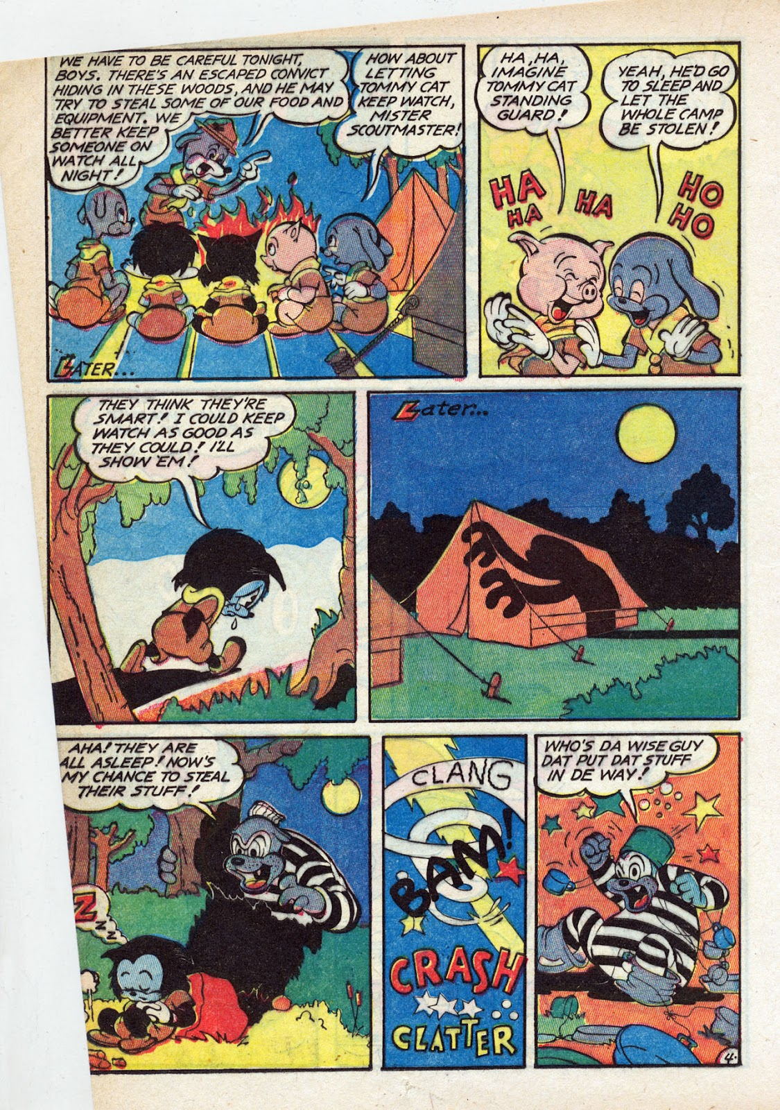 Read online Comedy Comics (1942) comic -  Issue #13 - 31