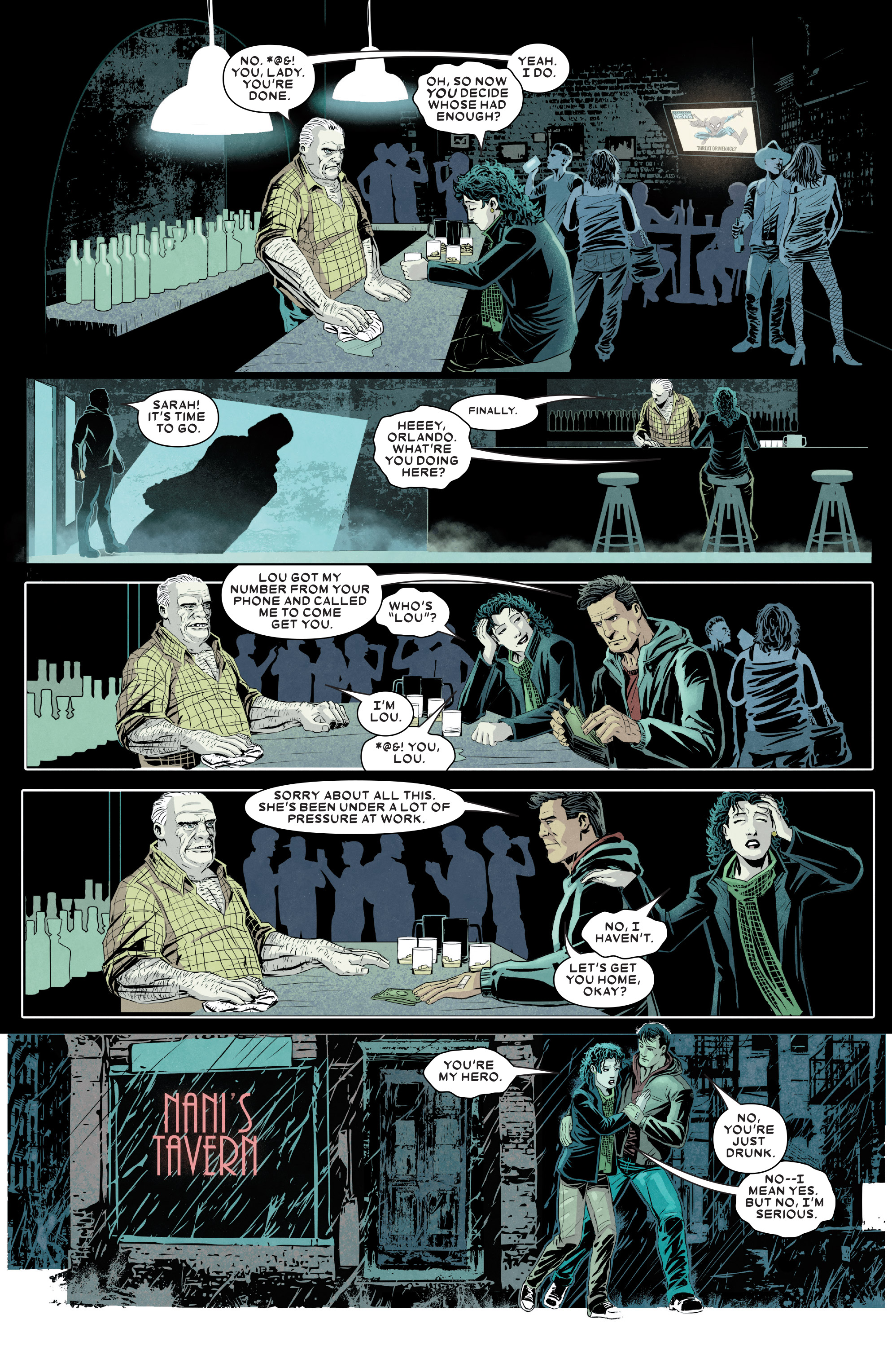 Read online Kingpin (2017) comic -  Issue #5 - 7