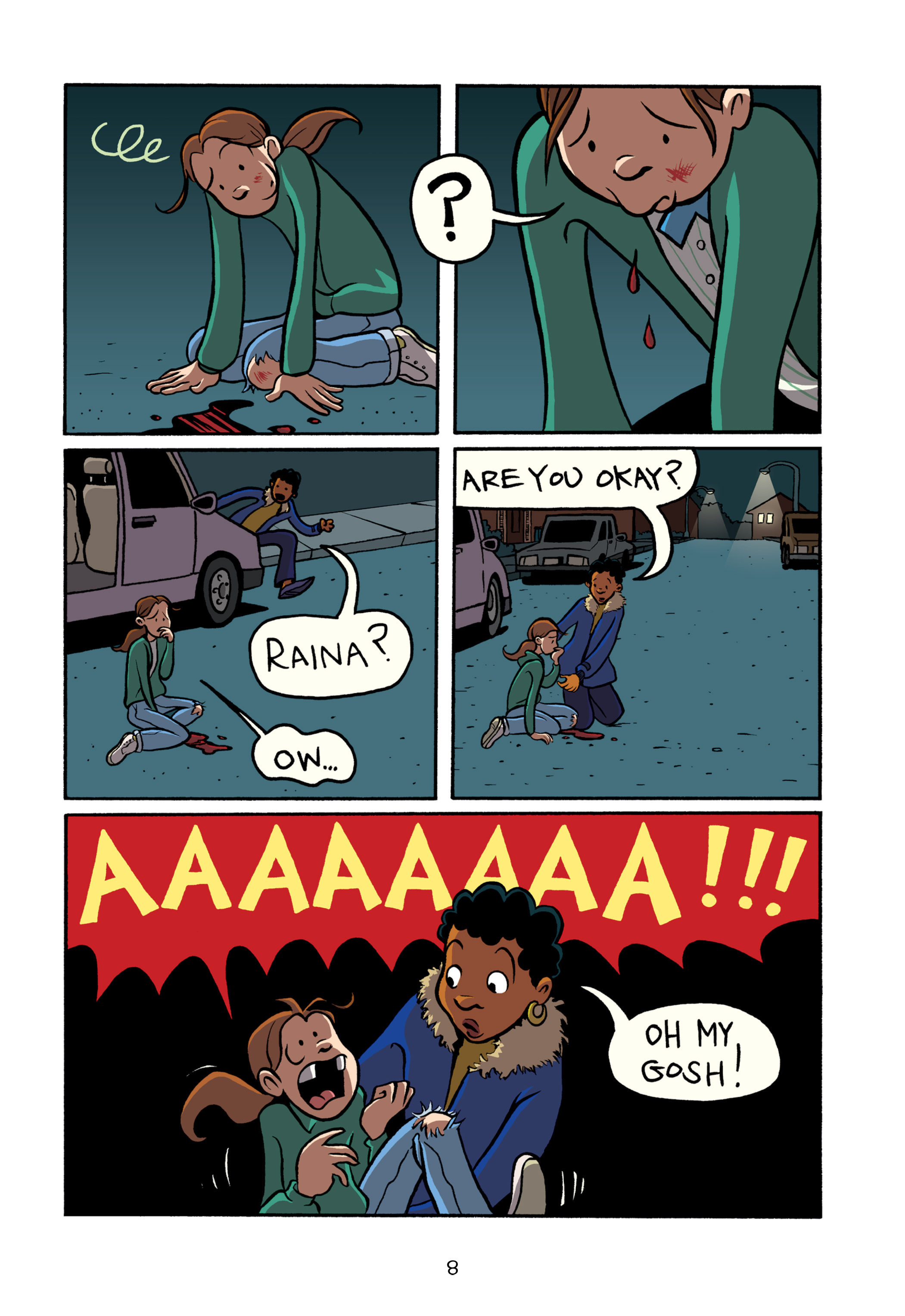 Read online Smile comic -  Issue # TPB - 14