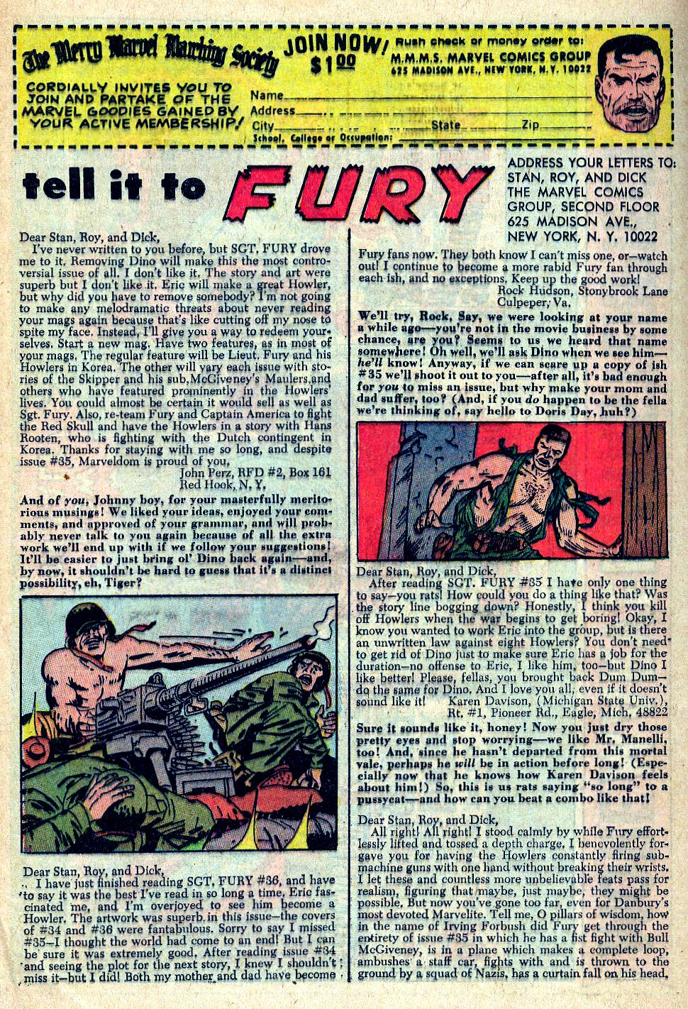 Read online Sgt. Fury comic -  Issue #39 - 32