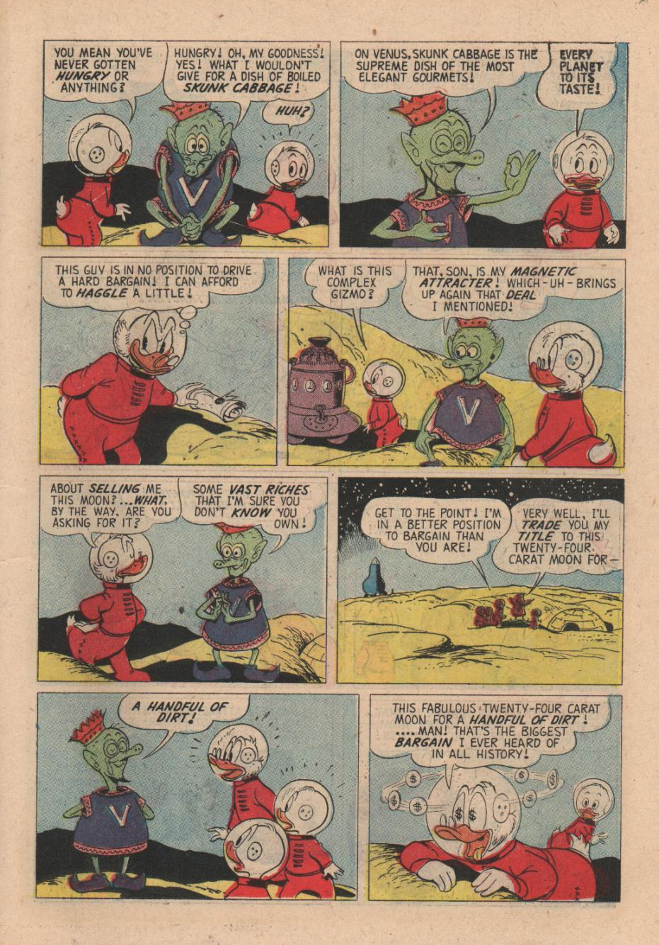 Read online Uncle Scrooge (1953) comic -  Issue #24 - 19