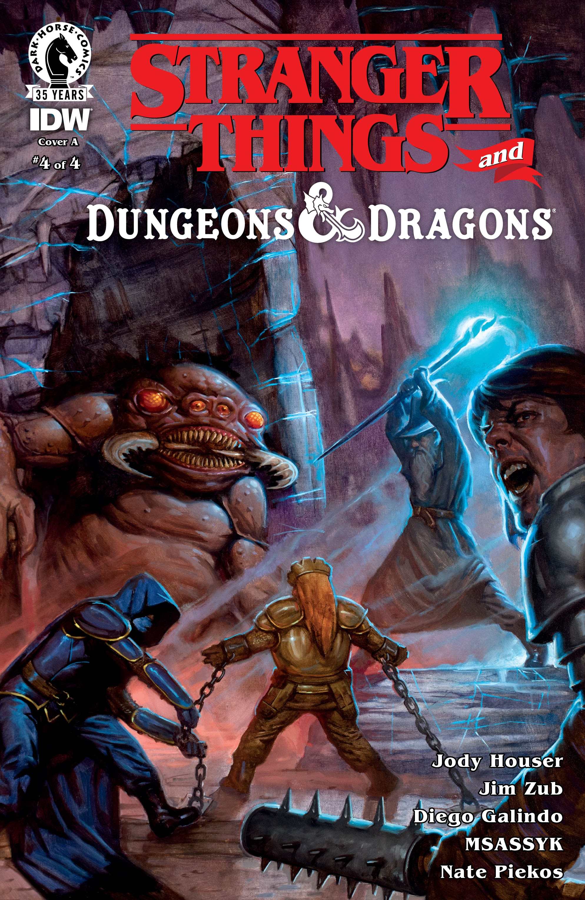 Stranger Things and Dungeons & Dragons 4 Page 1