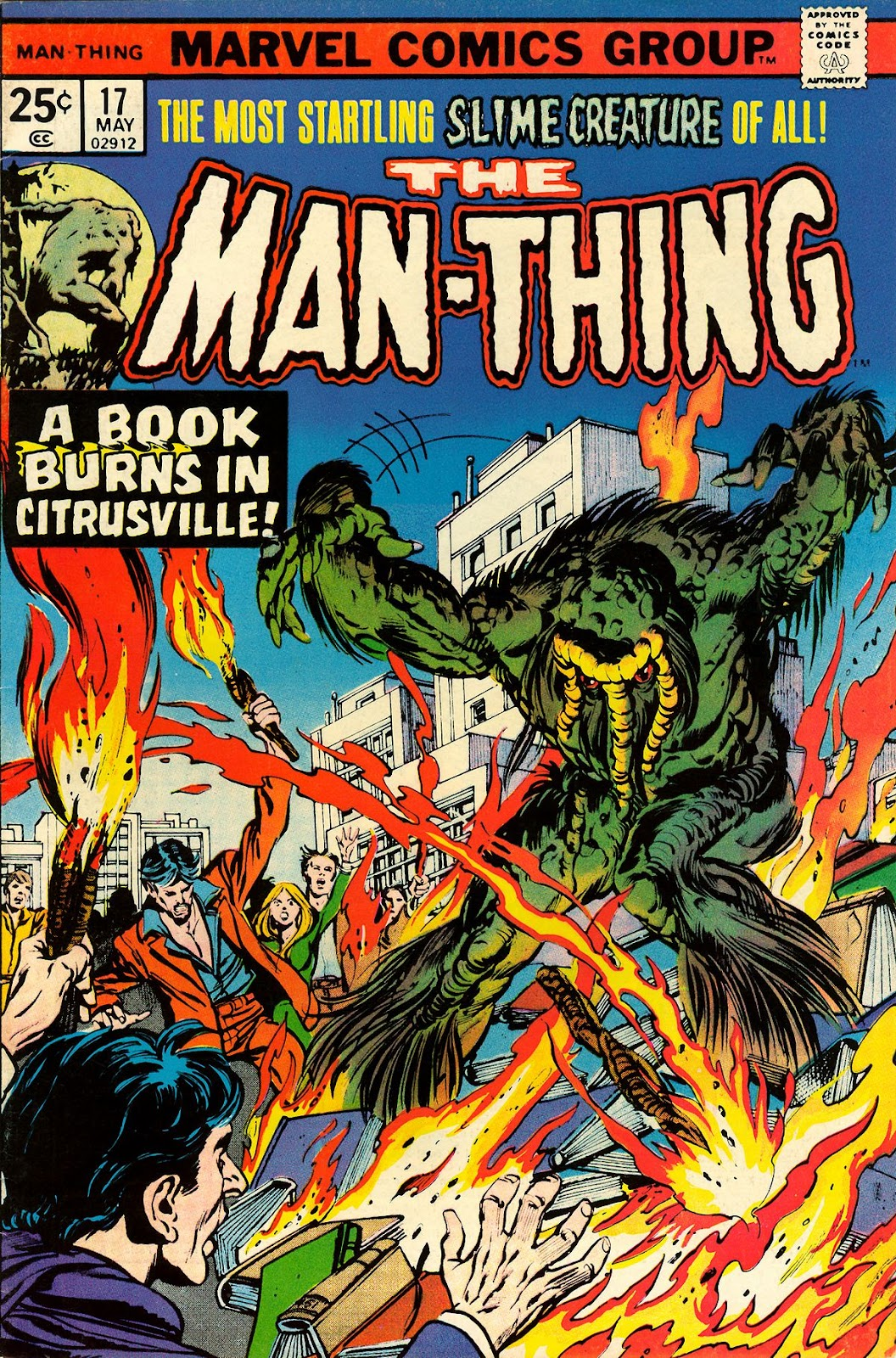 Man-Thing (1974) 17 Page 1