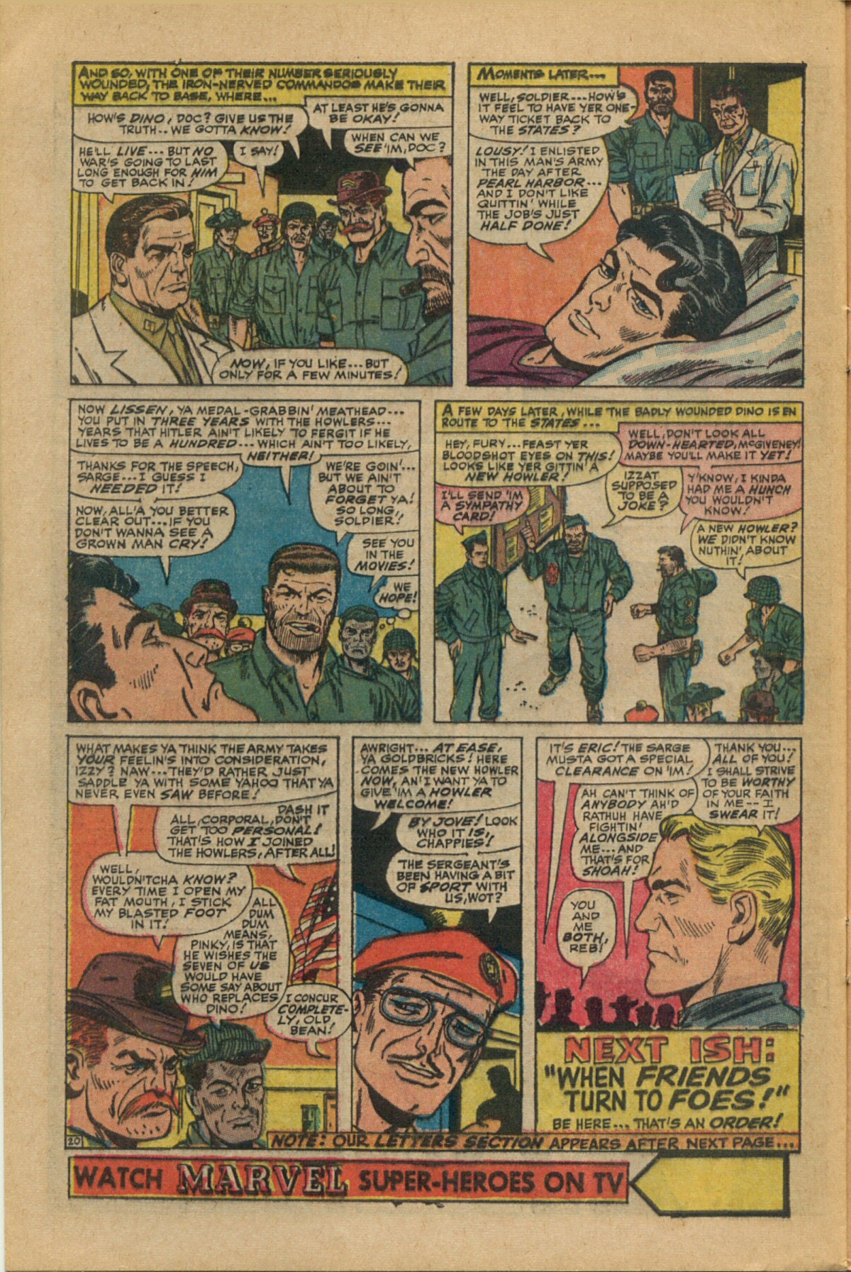 Read online Sgt. Fury comic -  Issue #35 - 28