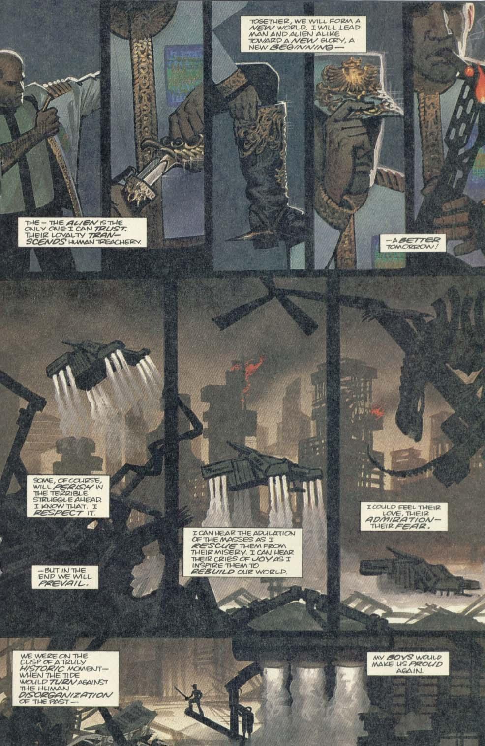 Read online Aliens (1989) comic -  Issue #4 - 19