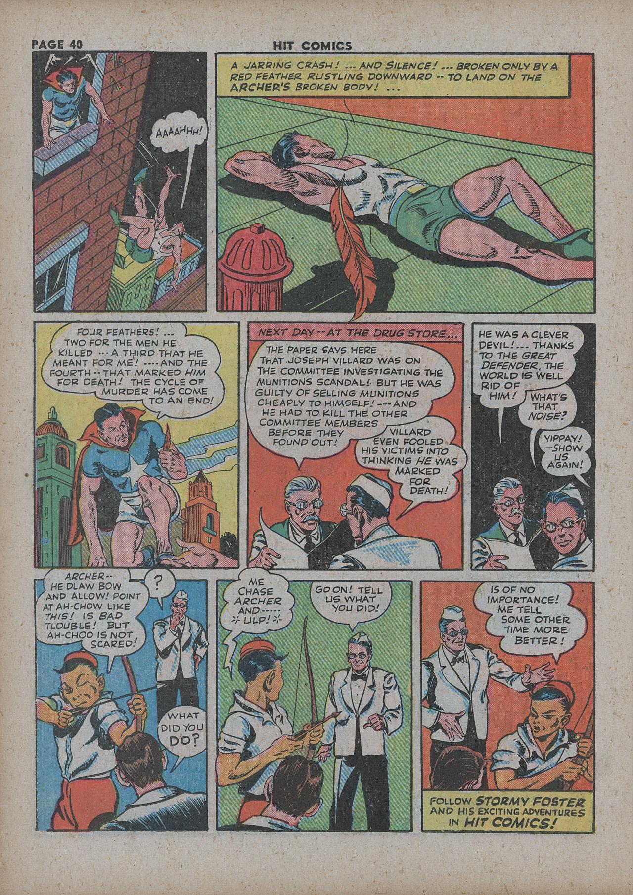 Read online Hit Comics comic -  Issue #27 - 42
