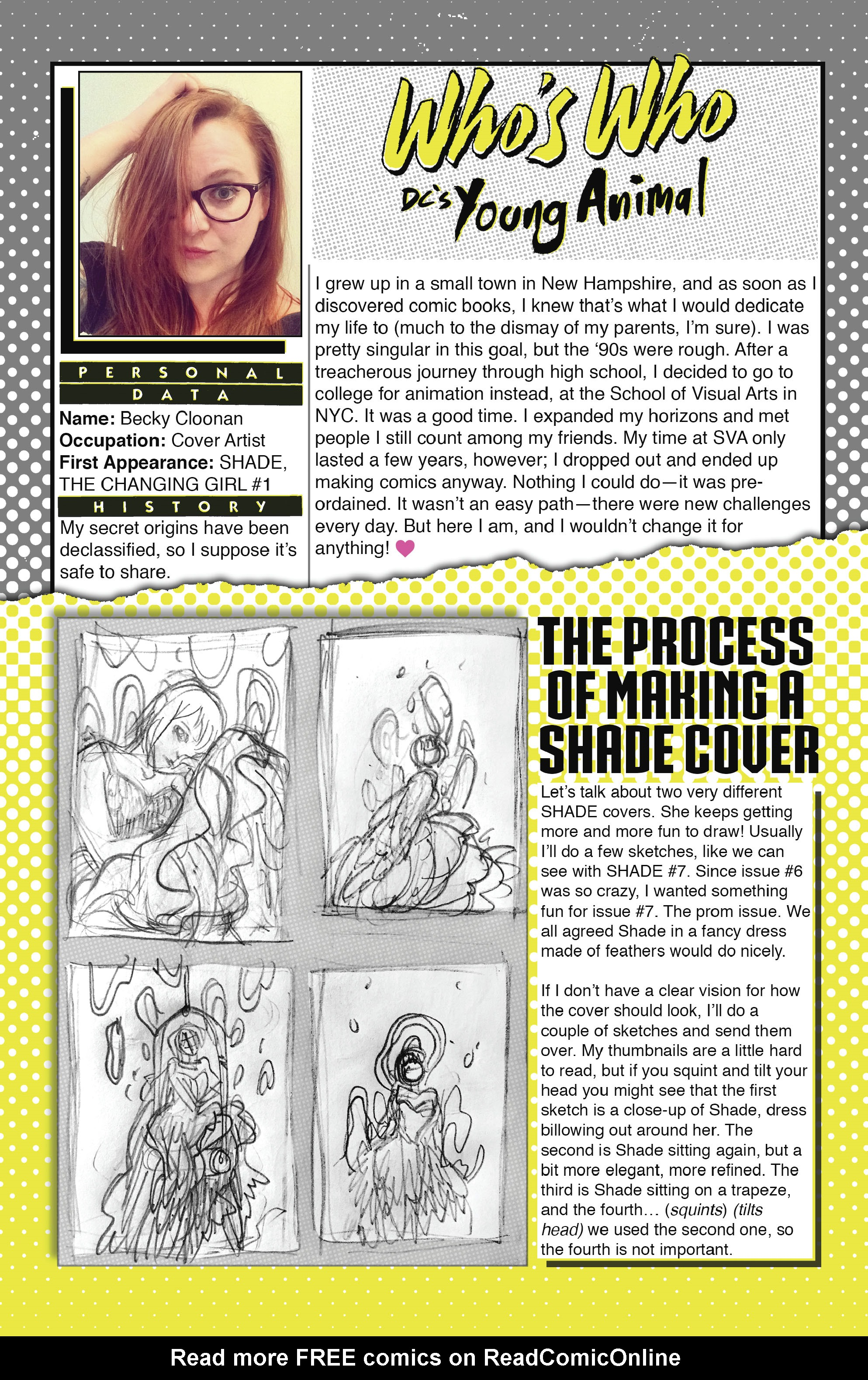 Read online Shade, the Changing Girl comic -  Issue #9 - 29
