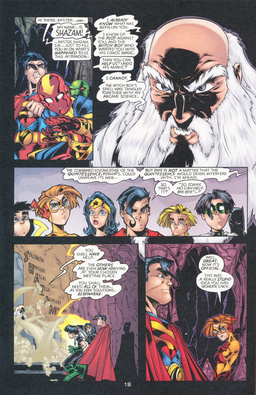 Sins of Youth issue JLA Jr. - Page 28