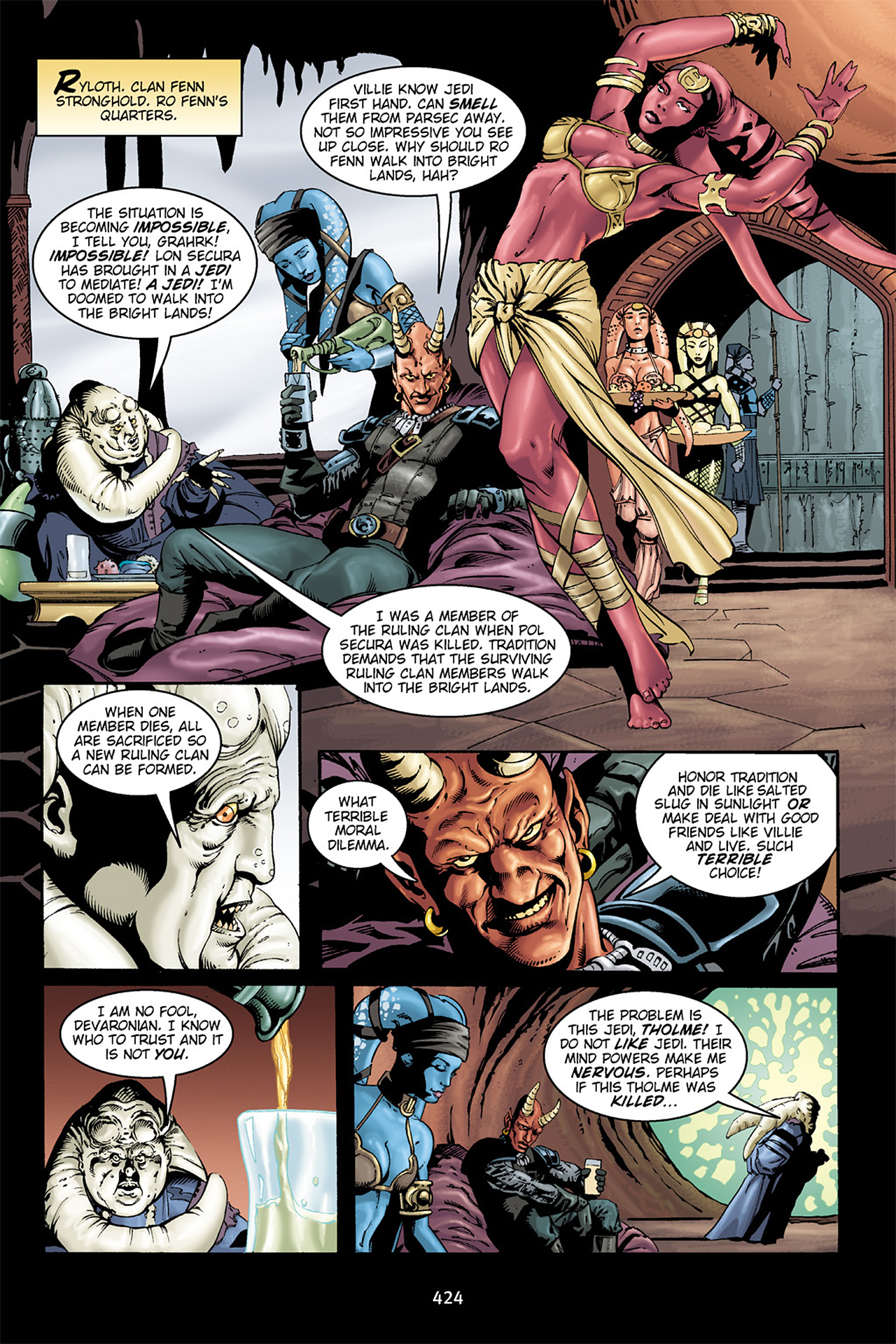 Read online Star Wars Omnibus comic -  Issue # Vol. 15.5 - 142