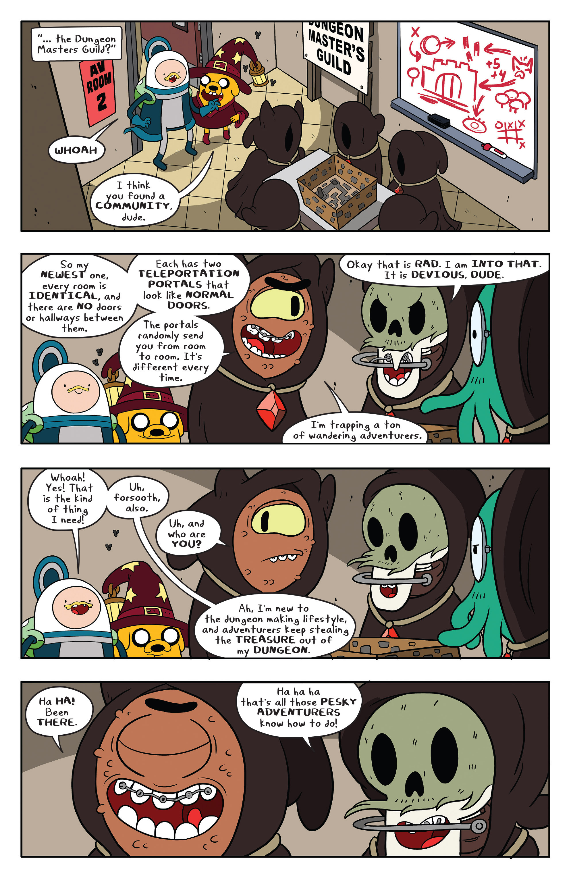 Read online Adventure Time comic -  Issue #58 - 22