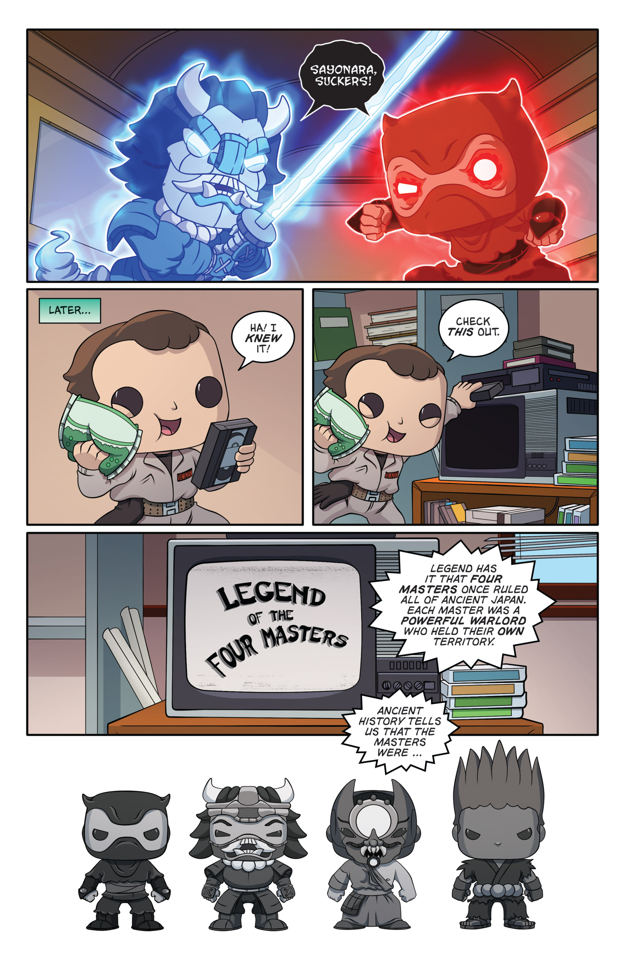 Read online Ghostbusters Funko Universe comic -  Issue # Full - 11