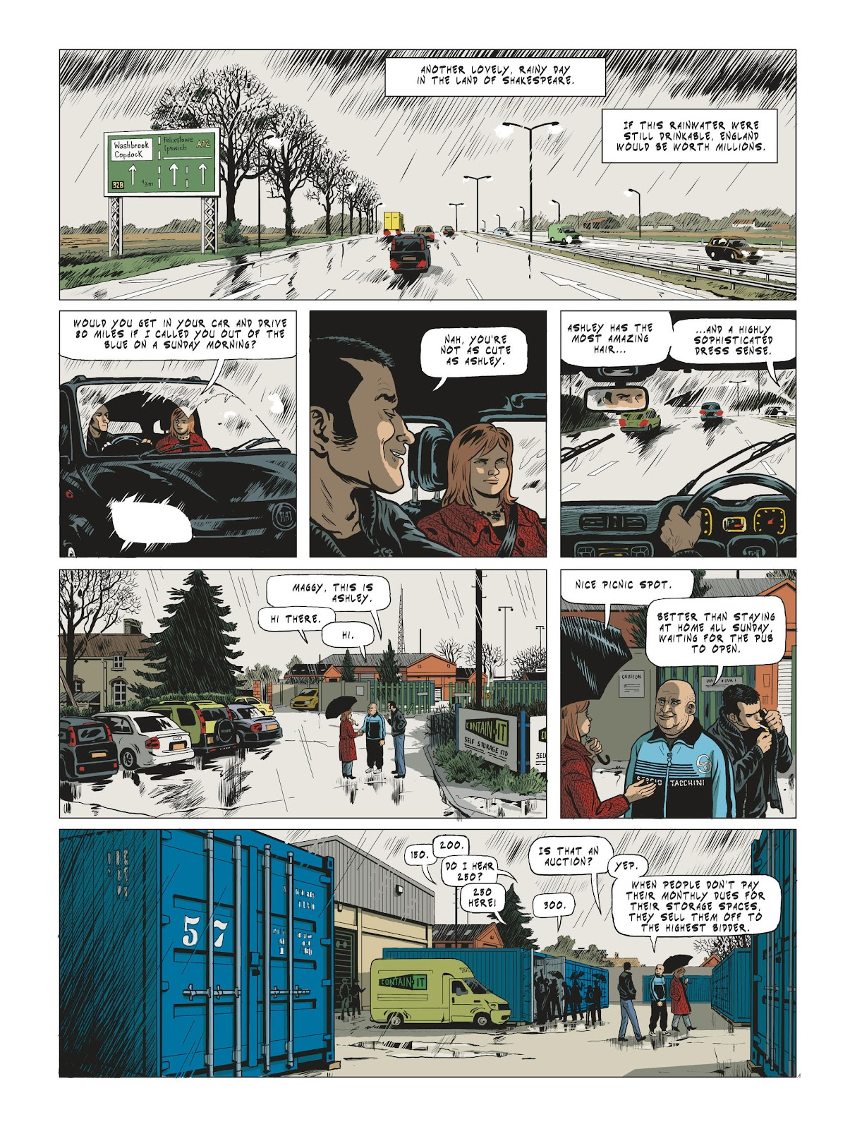 Read online Maggy Garrisson comic -  Issue #3 - 3