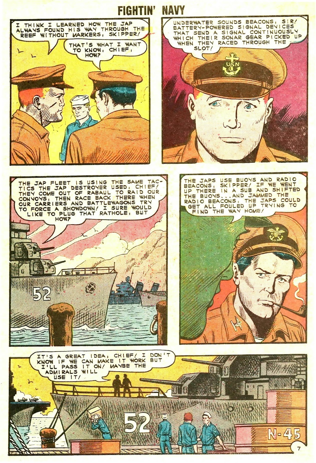 Read online Fightin' Navy comic -  Issue #120 - 10