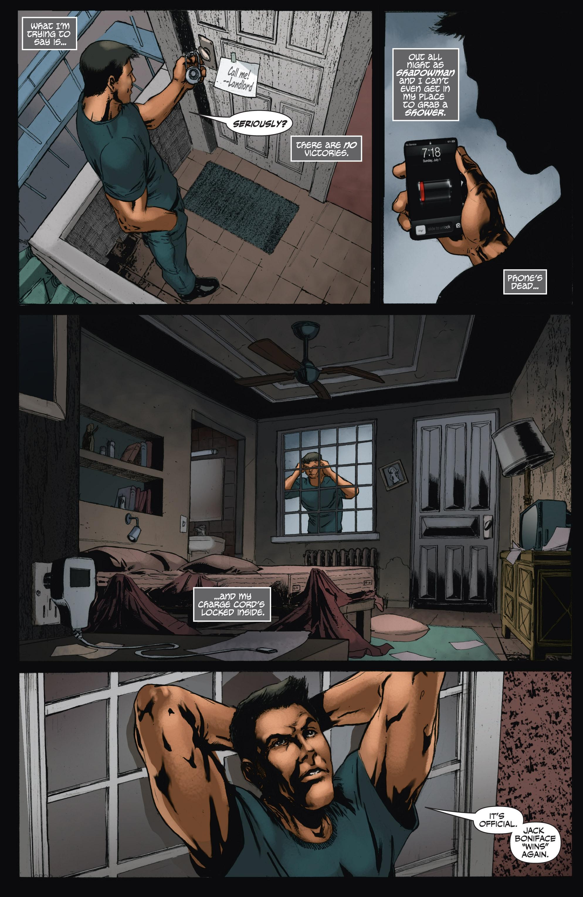 Read online Shadowman (2012) comic -  Issue #11 - 5