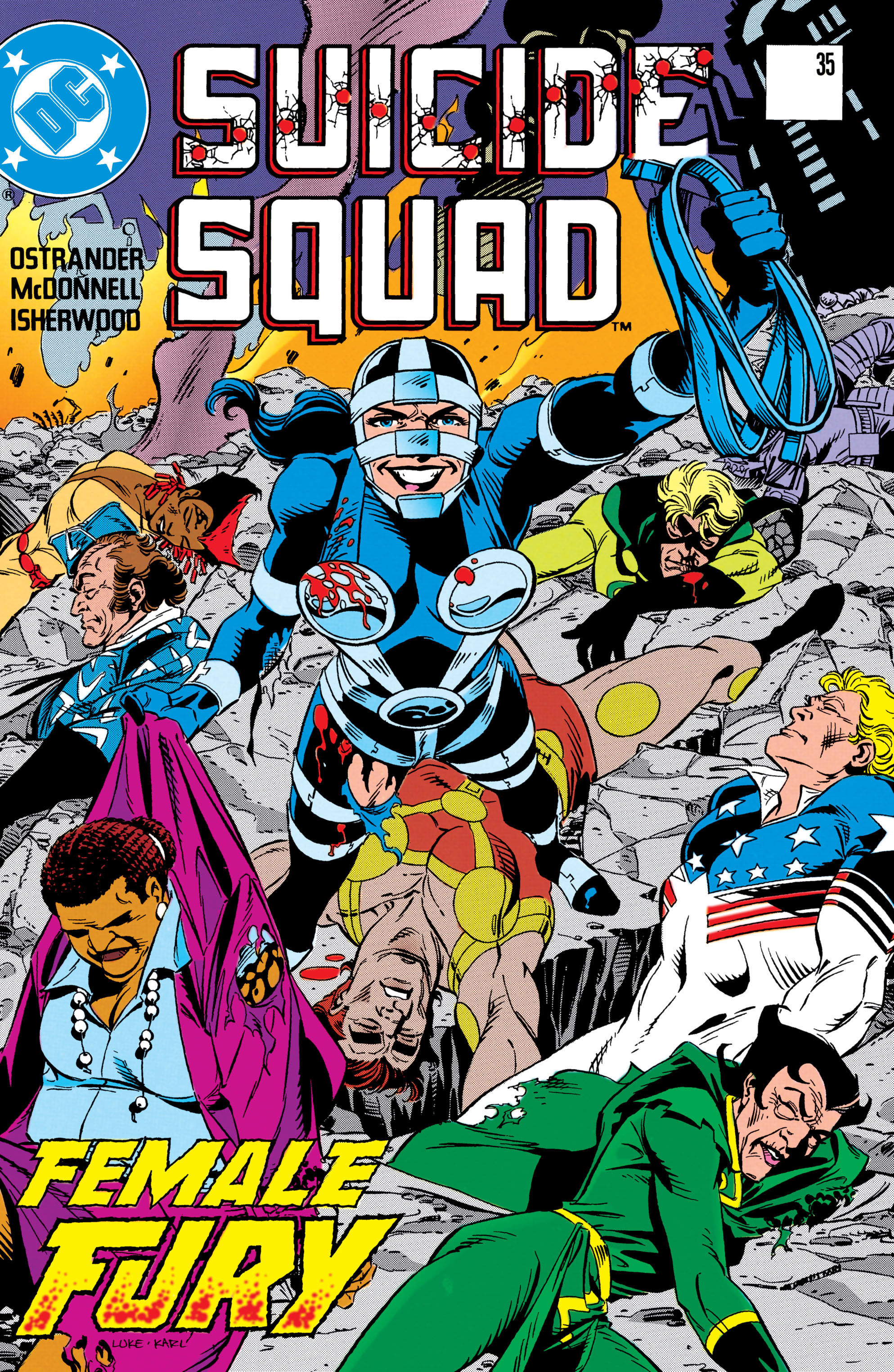 Suicide Squad (1987) issue 35 - Page 1
