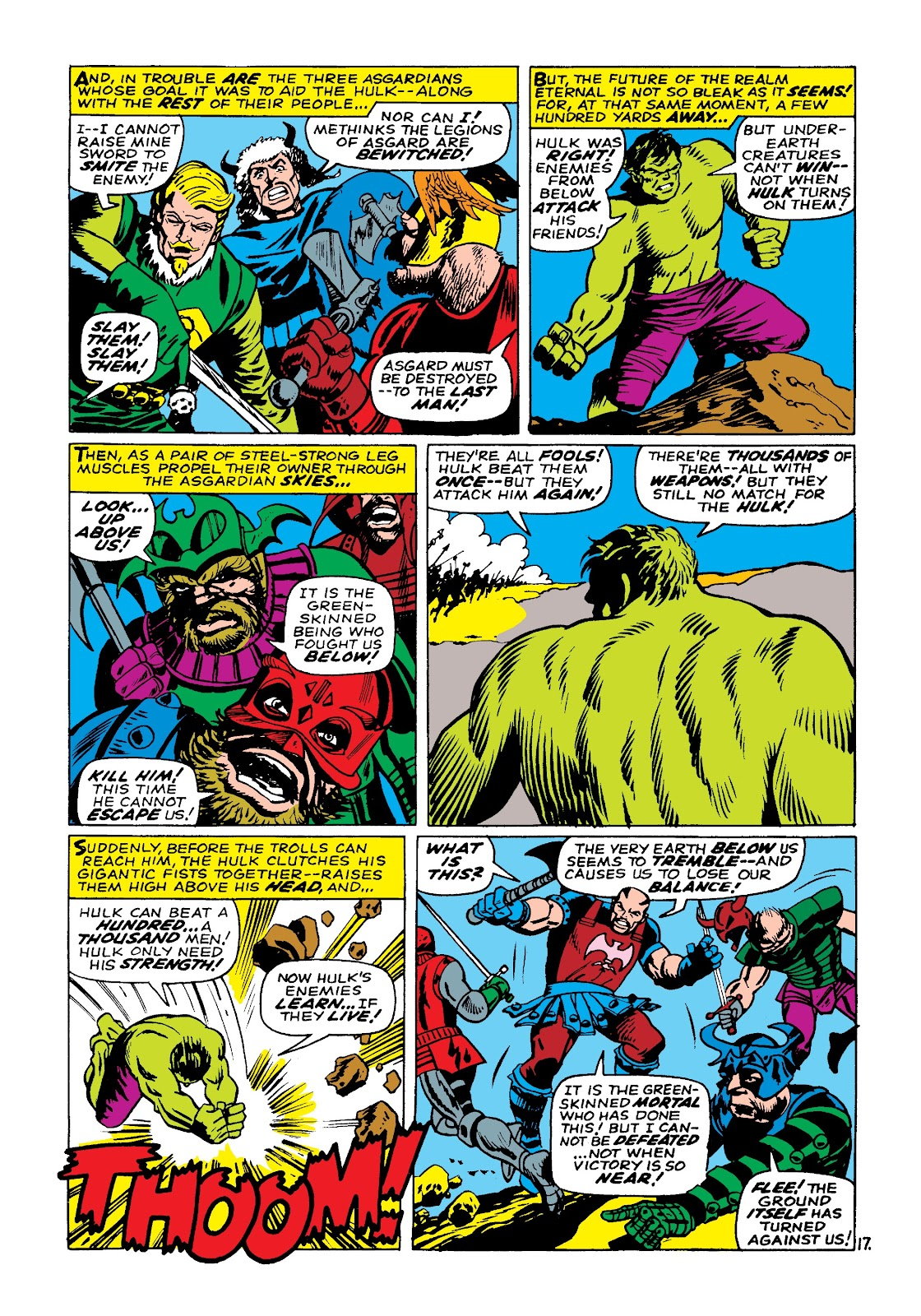Read online Marvel Masterworks: The Incredible Hulk comic -  Issue # TPB 3 (Part 3) - 80