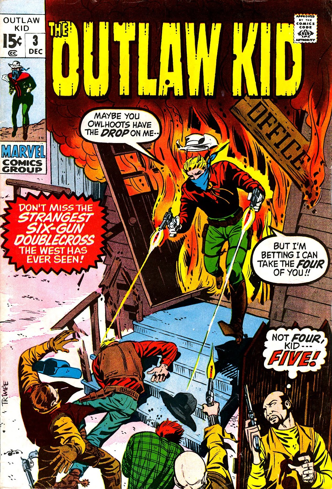 The Outlaw Kid (1970) issue 3 - Page 1