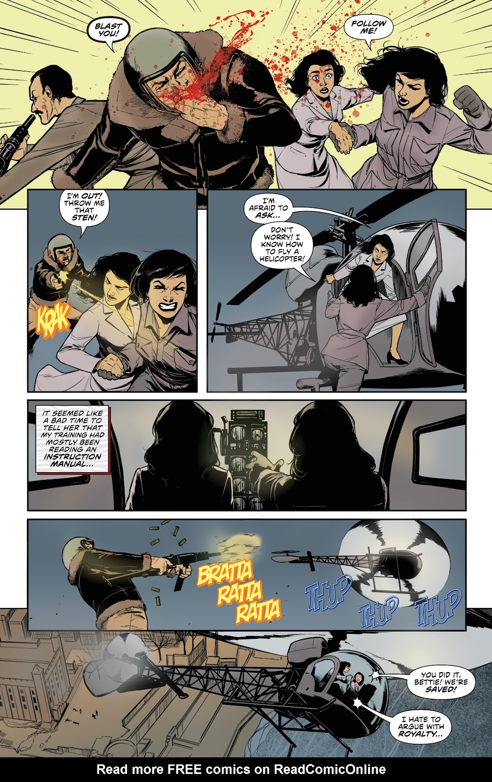 Read online Bettie Page (2018) comic -  Issue #3 - 25