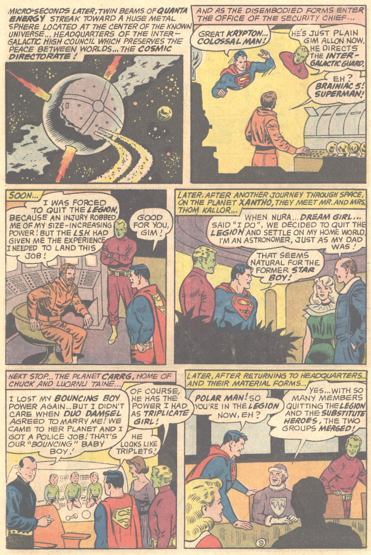 Read online Adventure Comics (1938) comic -  Issue #354 - 12