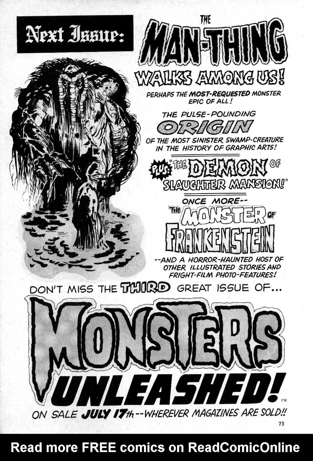 Monsters Unleashed (1973) issue 2 - Page 73