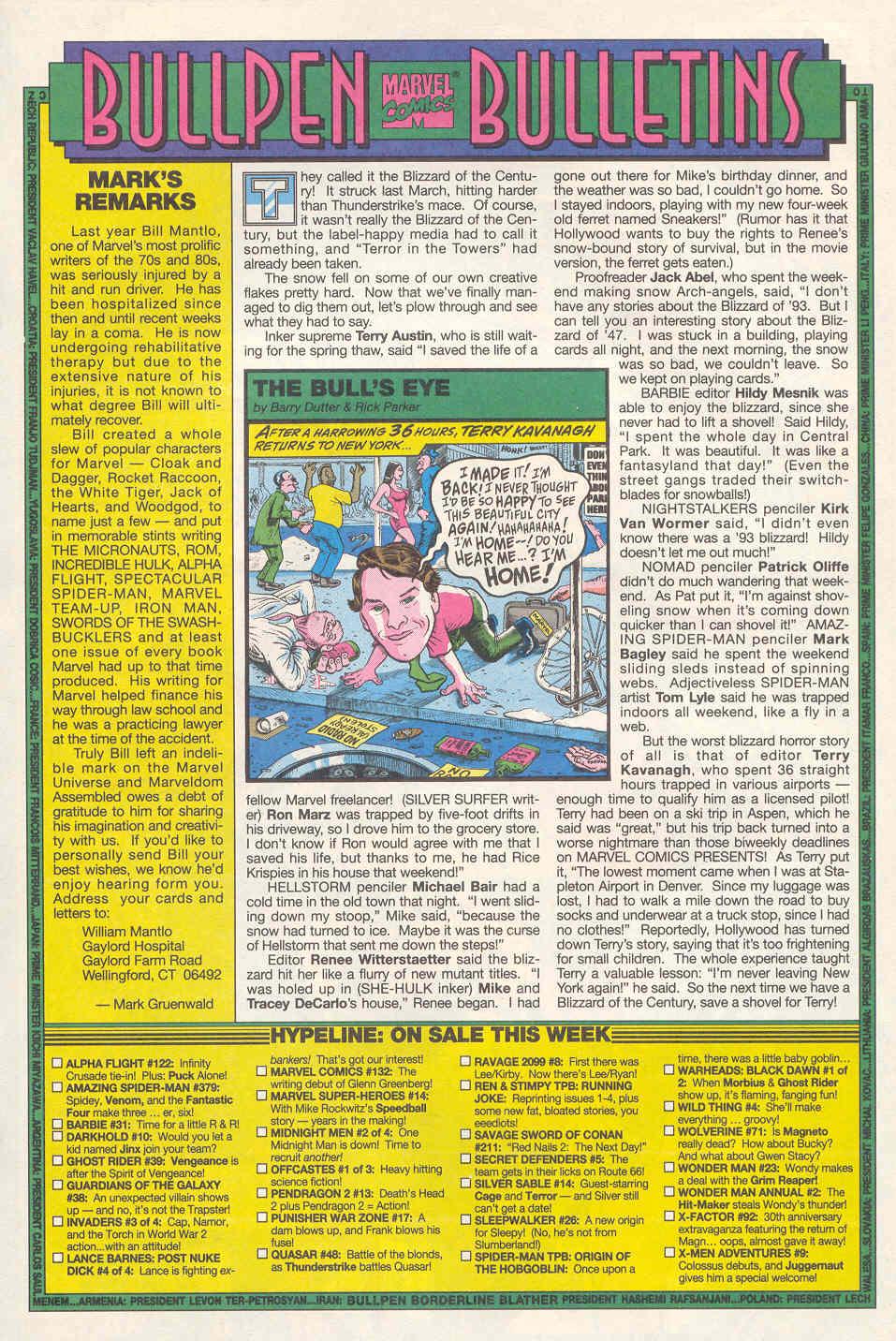 Read online Alpha Flight (1983) comic -  Issue #122 - 11