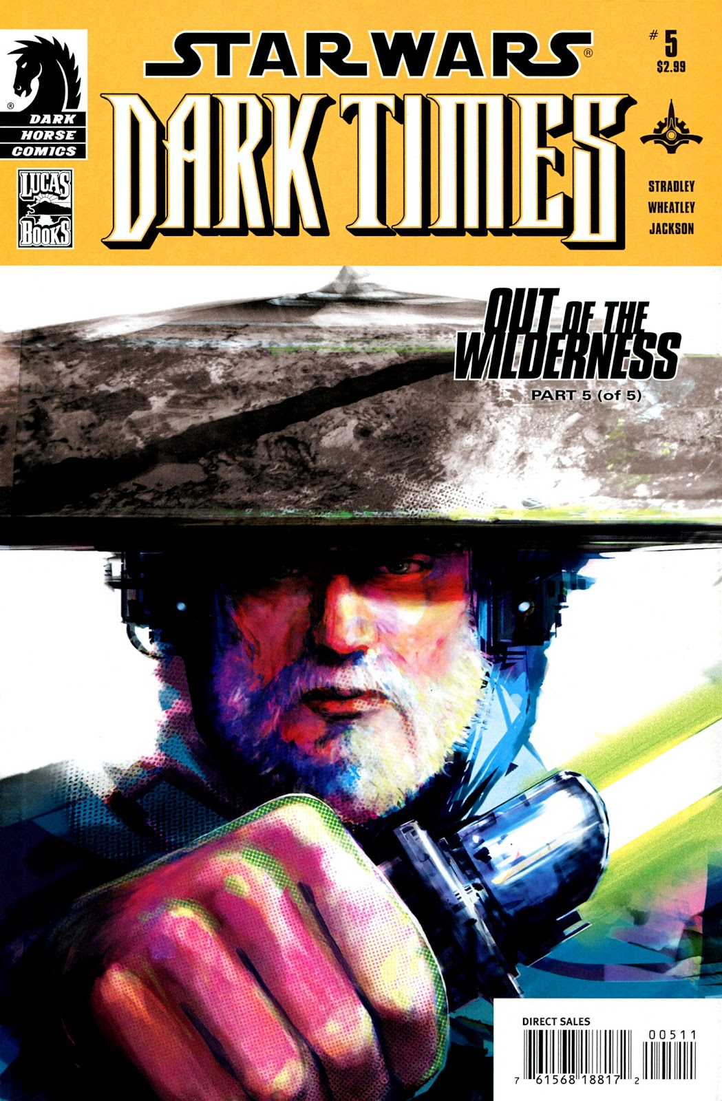 Star Wars: Dark Times - Out of the Wilderness 5 Page 1